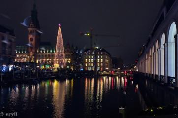 #hamburg, #x-mas market, #Alsterarkaden, #Weihnachtsmarkt,