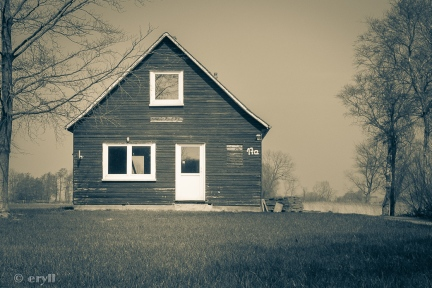 lonely little house
